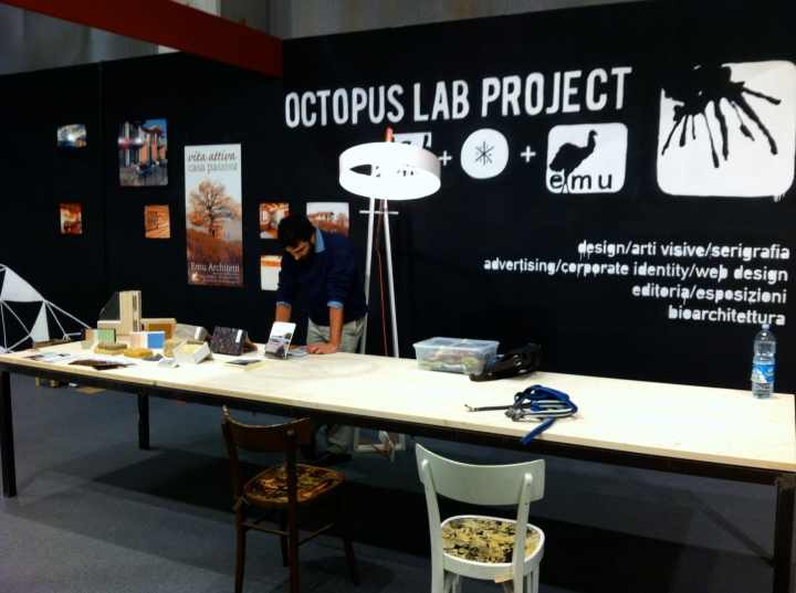 Emu Architetti al Salone del Mobile di Parma - Octopus Lab Project