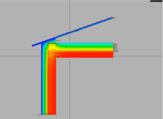 Riqualificazione energetica e ristrutturazione per Casa Passiva - Ponte termico risolto - isoterme