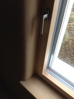 Clay plaster and #Smartwin windows - #Passivhaus by CreaTerra in #Slovakia.