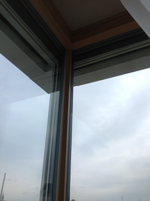Corner window by #Smartwin for #Passivhaus by CreaTerra in #Slovakia.