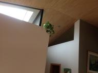 Interior detail - #Passivhaus by CreaTerra in #Slovakia.