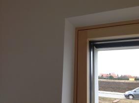 Clean, modern interior detail - #Smartwin windows in #Passivhaus, #Slovakia