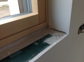 taping for air tightness in #Passivhaus, #Slovakia