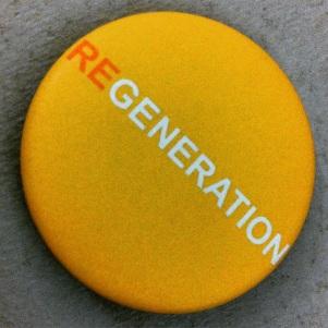 REGENERATION Yellow Team button