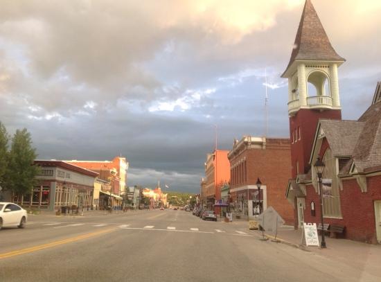 La cittadina di Leadville, nell Montagne Rocciose tra Denver e Aspen.