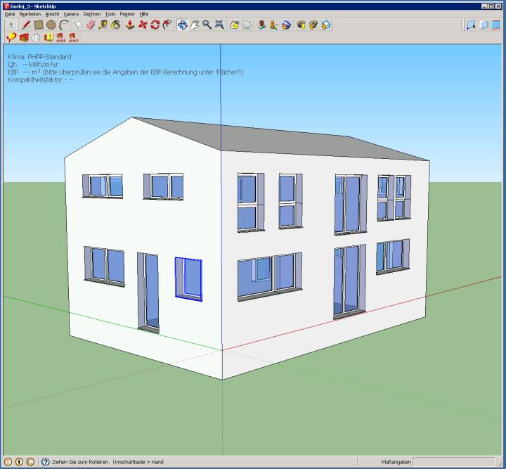 Emu Architetti - rapporto di forma di una Casa Passiva