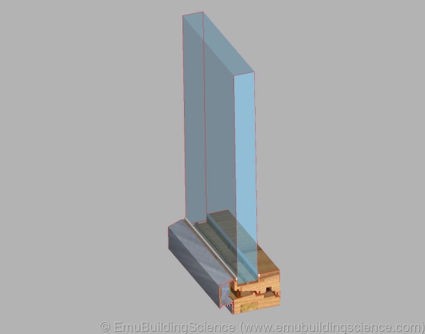 Emu - window sill 3D